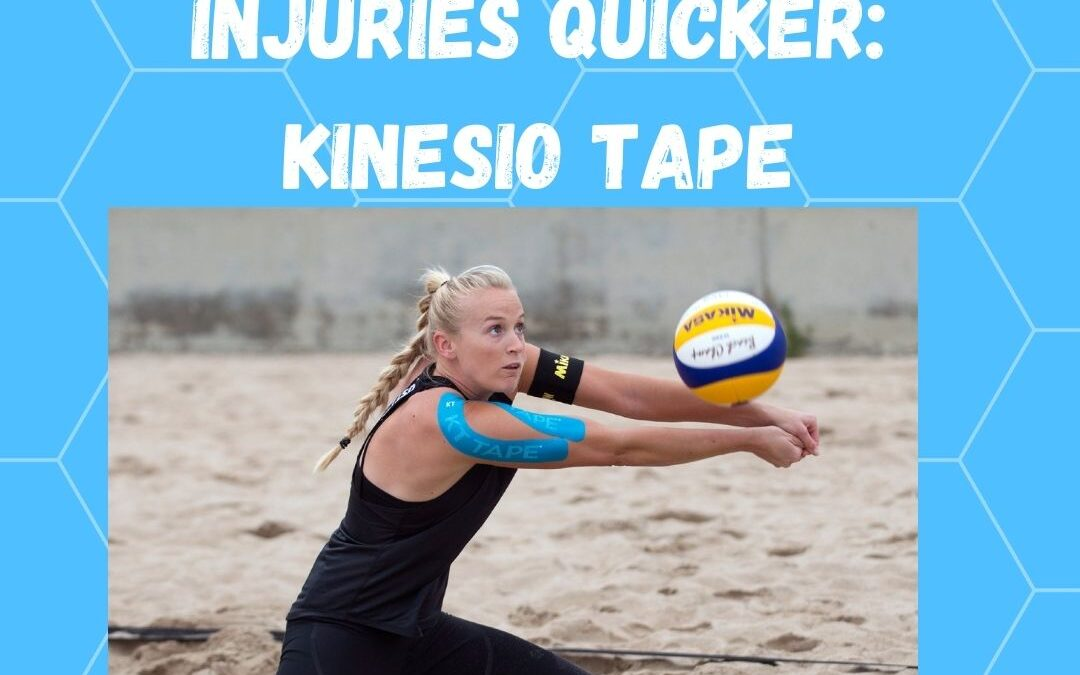 Heal Injuries Faster With Kinesio Tape